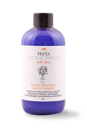 Simply Pregnant Rescue Remedy Bath Foam