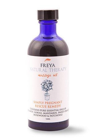 Simply Pregnant Massage Oil