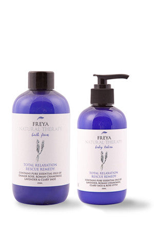 Total Relaxation Bath Foam and Body Lotion Gift Set