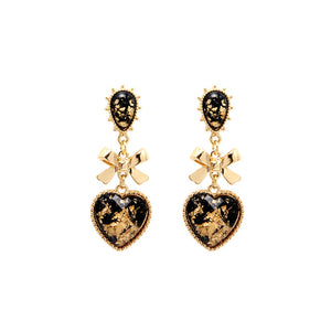 The LikeAudrey Heart Earrings