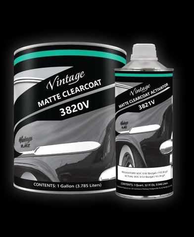 Vintage Clearcoat VF3820 + VF3821 Regular Speed Activator Kit