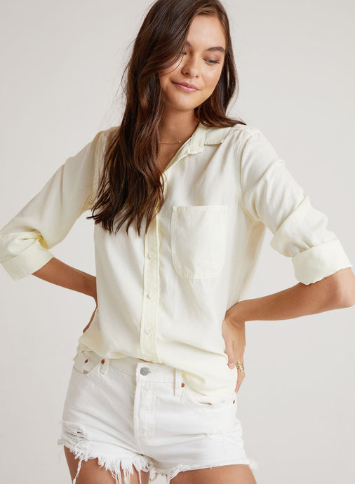 Shirt Tail Button Down- Lemonspritzer