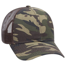 Load image into Gallery viewer, 6 Panel Low Profile Camouflage Hat