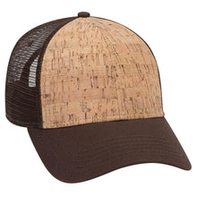 Load image into Gallery viewer, 6 Panel Cork Mesh Hat