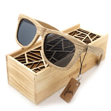 Load image into Gallery viewer, Designer Wooden Sunglasses by BoboBird