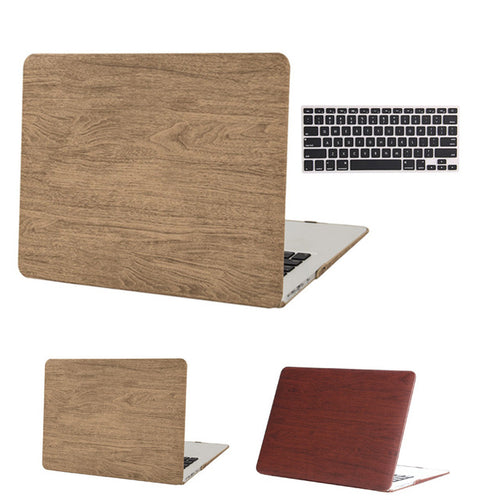 Apple Macbook Pro 13- Retina Wood Grain Case