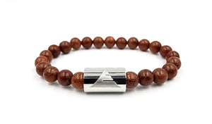 Timber | Red Rosewood | Silver