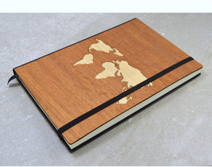 Wood Travel Journal