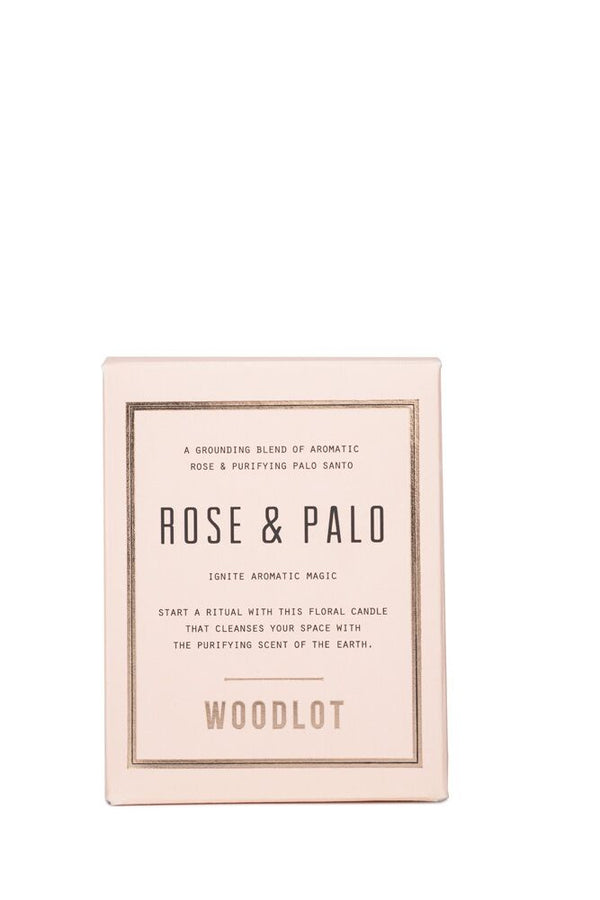 Rose & Palo - 8oz Candle