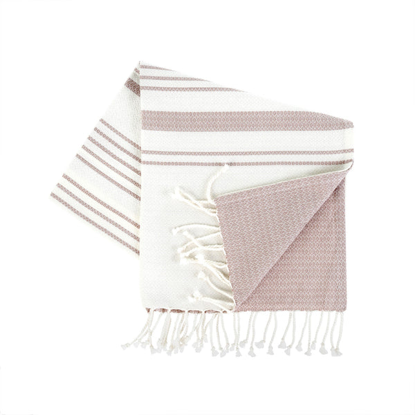 Cotton Bath Towel - Light Plum