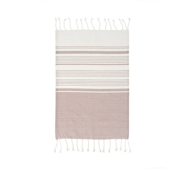 Cotton Hand Towel - Plum