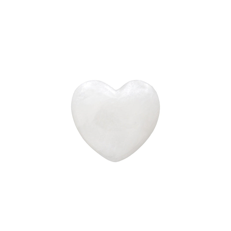 Alabaster Stone Hearts