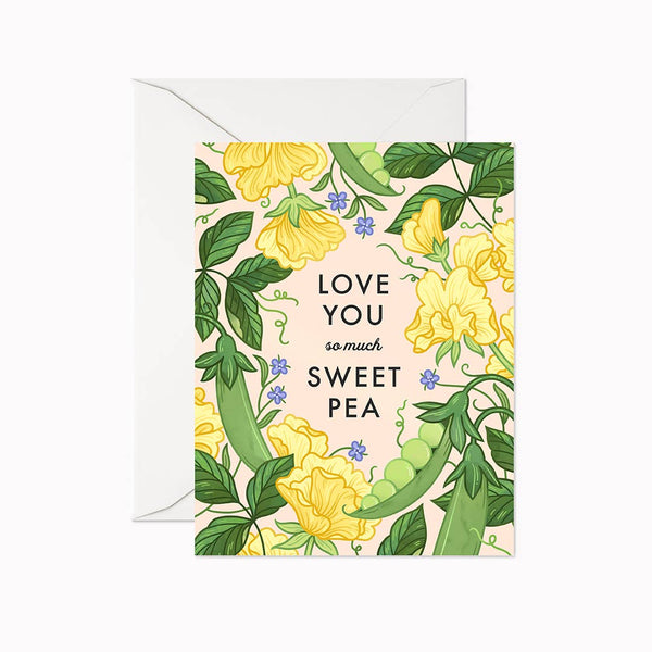 Love You Sweet Pea Card