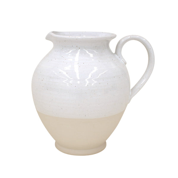 Fattoria White Jug Pitcher