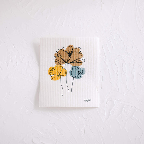 Swedish Dishcloth | Harvest Bouquet