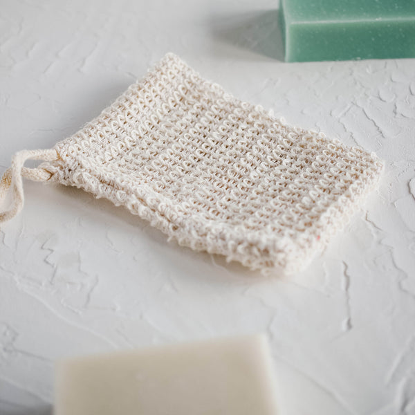 Casa Agave™ Woven Soap Bag - 2 Pack Exfoliating Scrubber