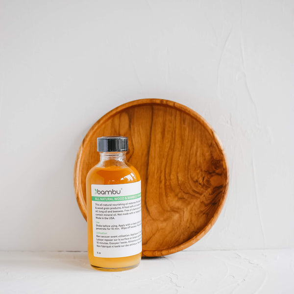 Bamboo & Wood Grain Finishing Oil