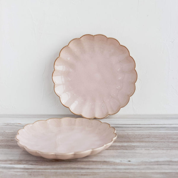 Amelia Salad Plate in Blush