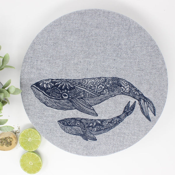 Bowl Wrap Unwaxed - Set of 2 Whale