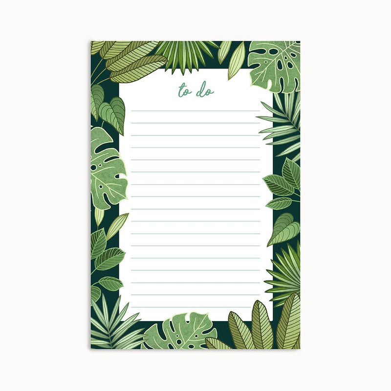 To-Do Notepad - Jungle