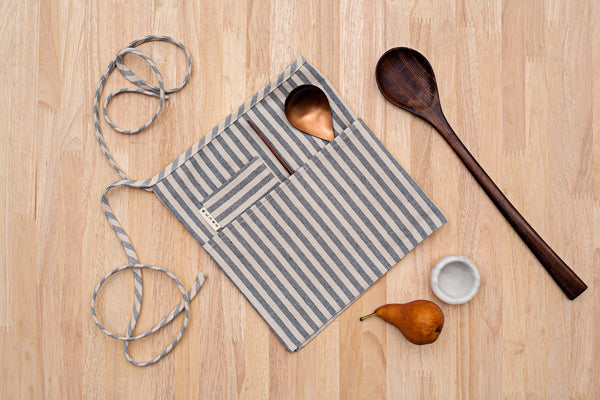 Waist Apron - Striped
