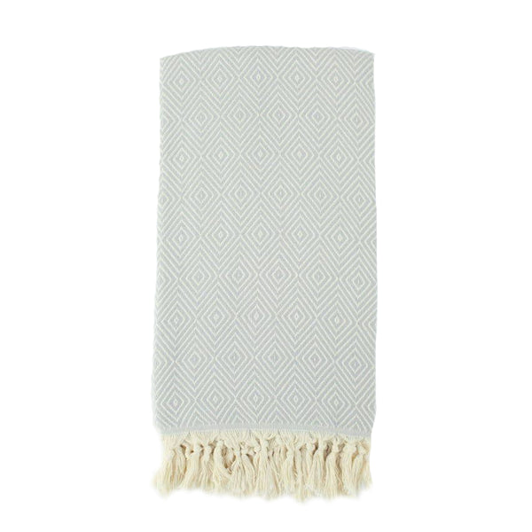 39x74 Turkish Towel Blanket- Diamond