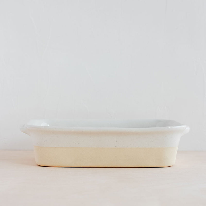 Fattoria White Small Rectangular Baker