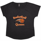 women's black basketball tshirt
