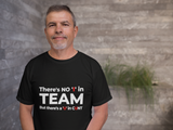No i in team cunt t shirt gift