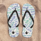 Vulva lover beach shoes
