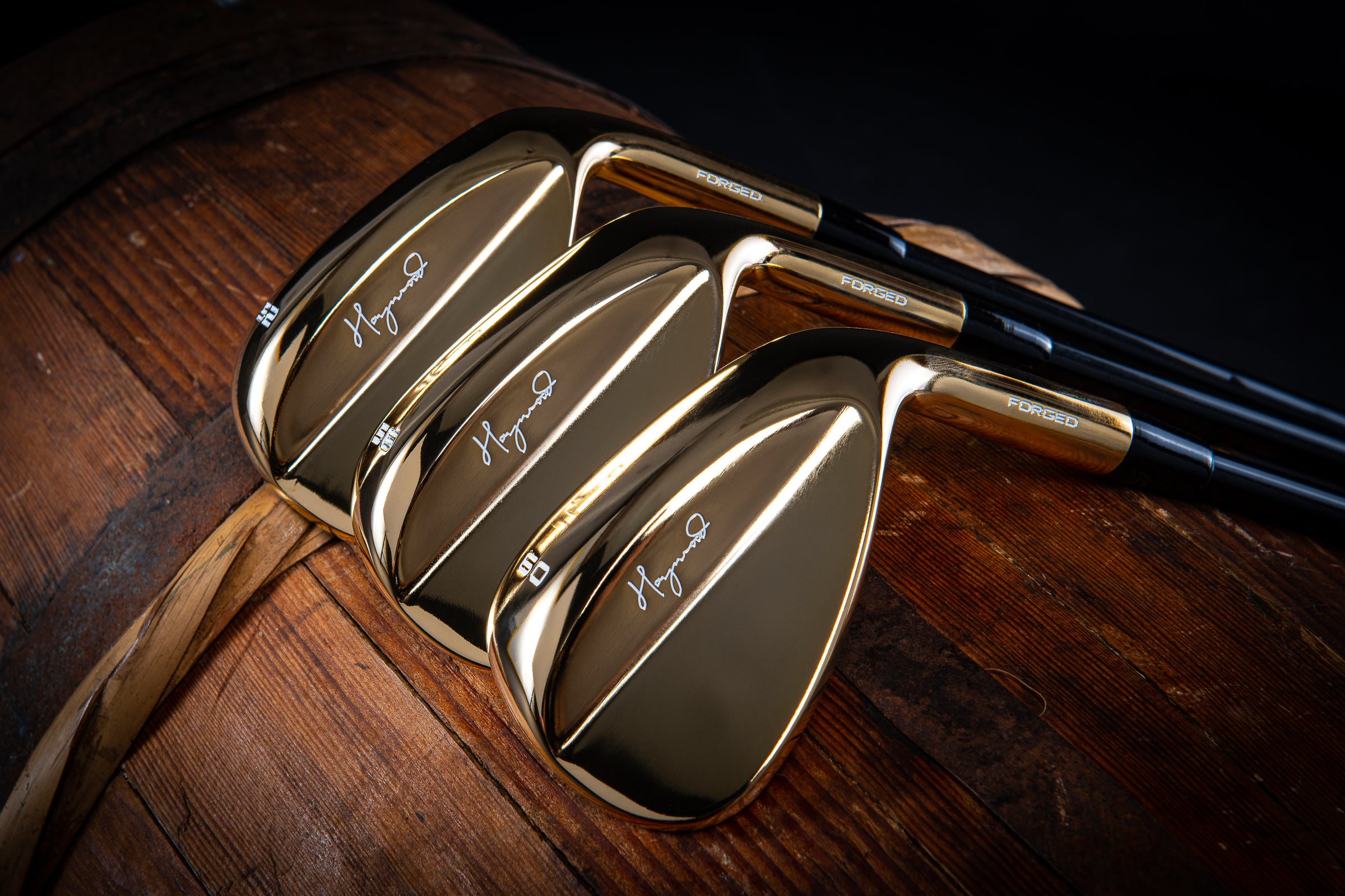 Limited Edition 24-Karat Gold Wedge