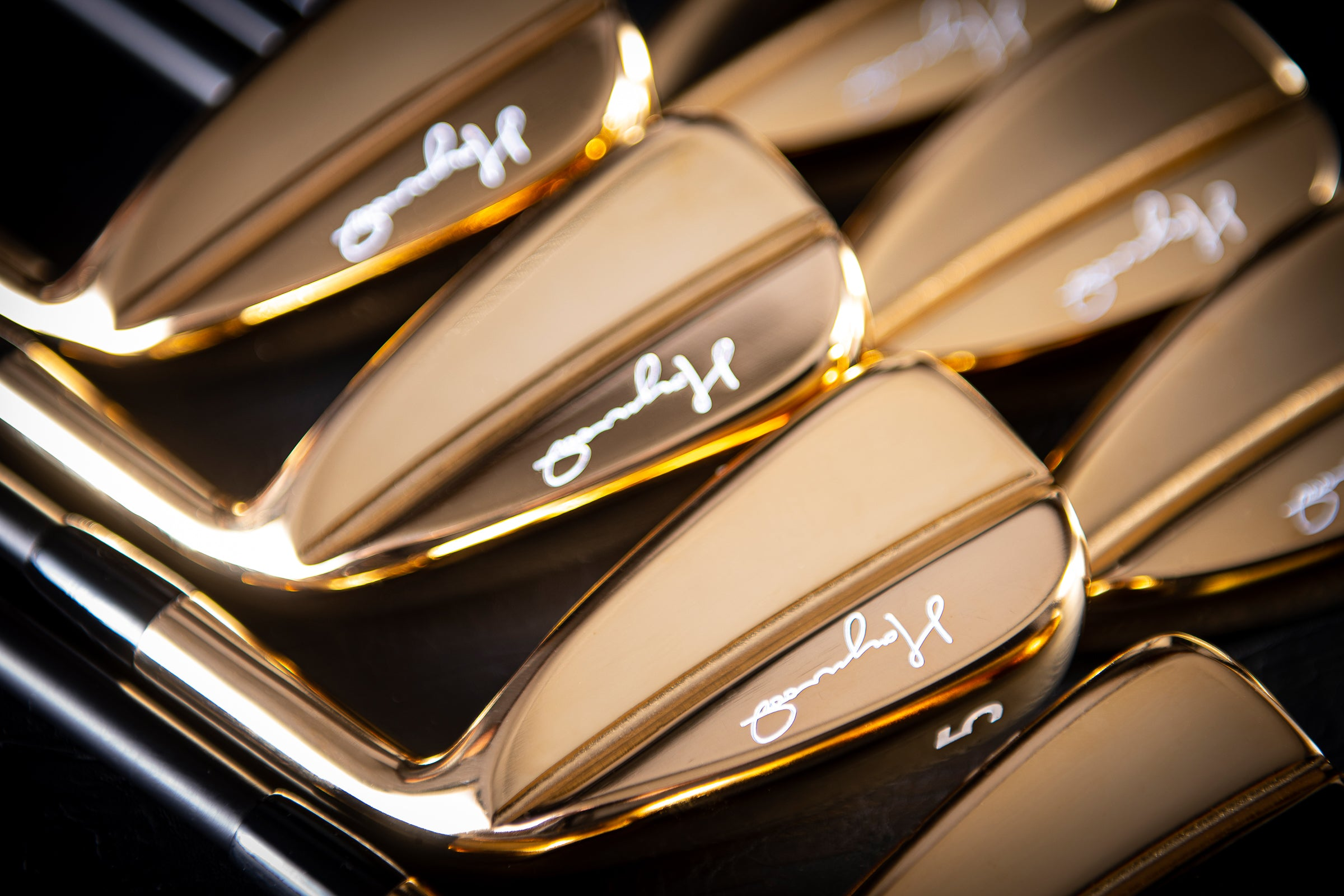 Limited Edition 24-Karat Gold Irons