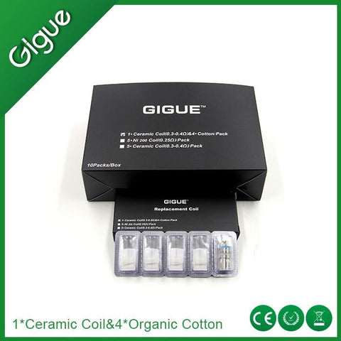 Gigue Dolphin Ceramic Coils