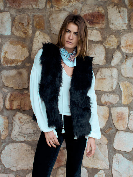 Faux Fur Cut-off