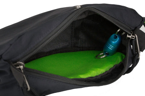 looking inside the Hip Pack