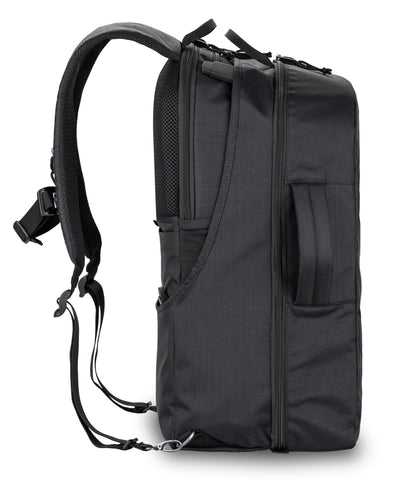 side view of day pack