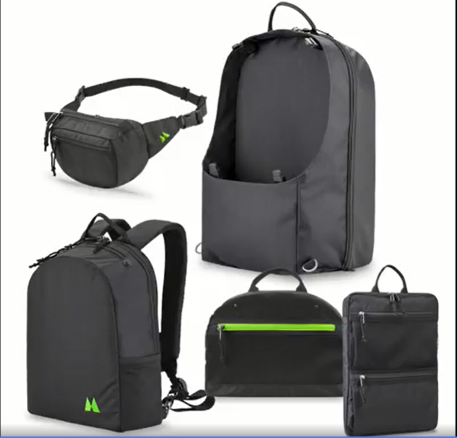 The Journey - Complete 5-in-1 Modular Travel Bag System