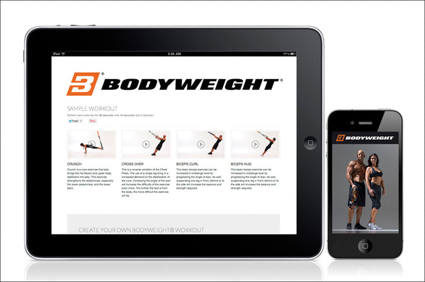 Art.nr. 119 BODYWEIGHT® APP FÖR iPHONE OCH ANDROID