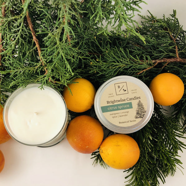Citrus Spruce - Brightwise Candles