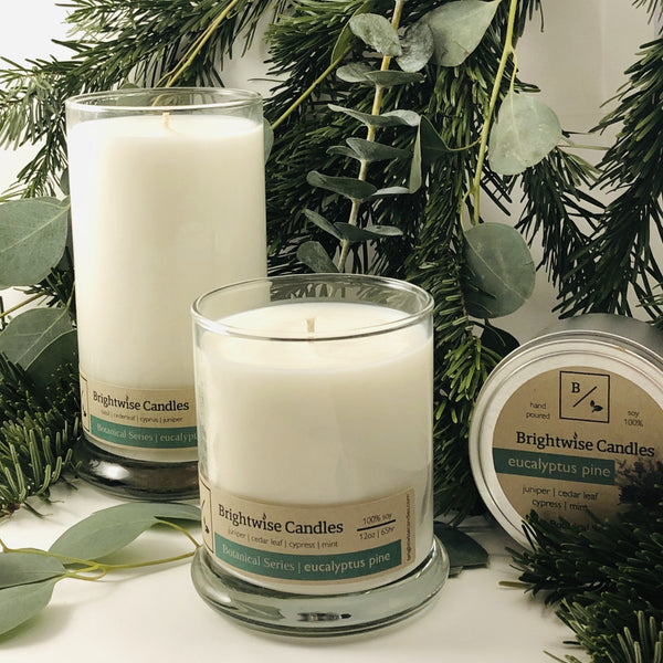 Eucalyptus Pine - Brightwise Candles