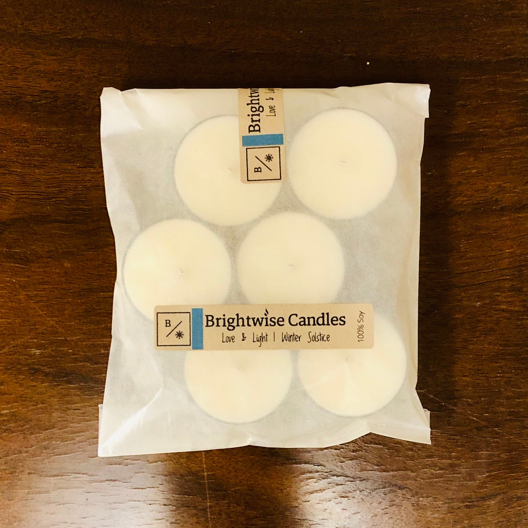 Love & Light Tealights - Brightwise Candles