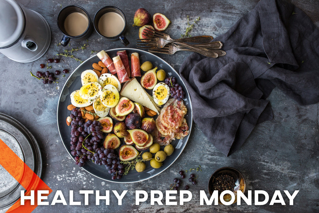 Healthy Burger Bowl - Meal Prep Monday