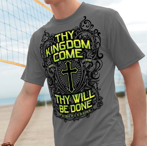 Christian T-shirt Thy Kingdom Come back