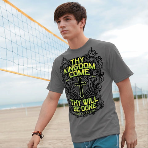 Christian T-shirt Thy Kingdom Come