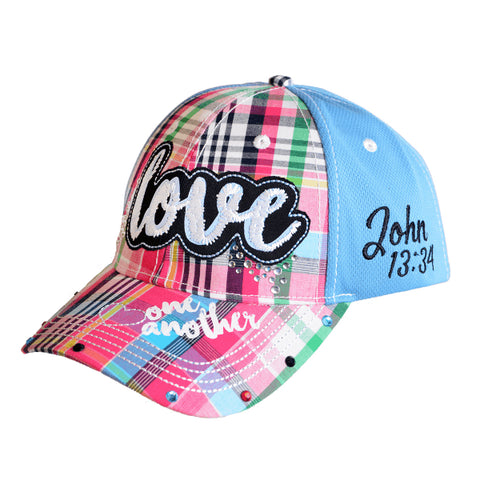 Girls Christian LOVE Cap - John 13:34