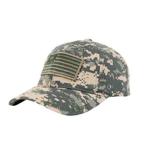 Christian Military Cap - One Nation Under God