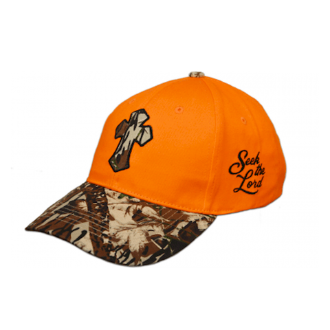 Seek The Lord Camo Cap - Lift Your Cross