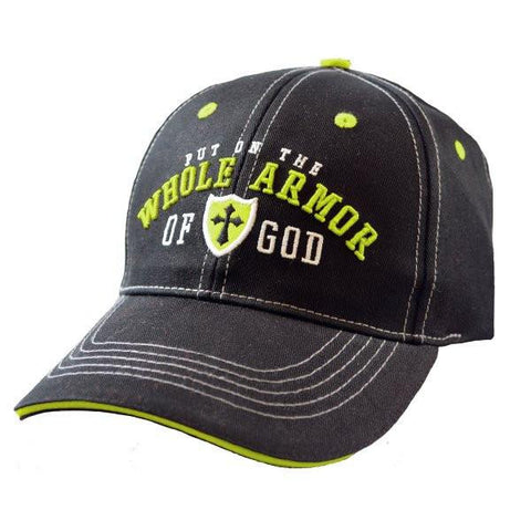 Put On The Armor Of God Cap - Lift Your Cross