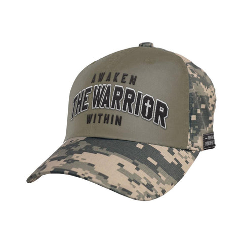 Christian camo hat - Awaken the Warrior Within