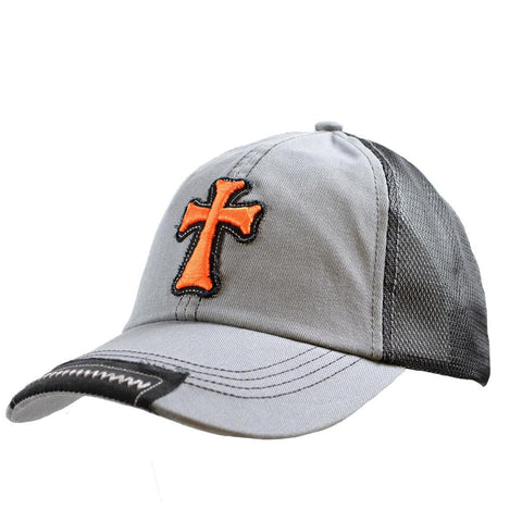 Christian Cap with Cross - Lift Your Cross